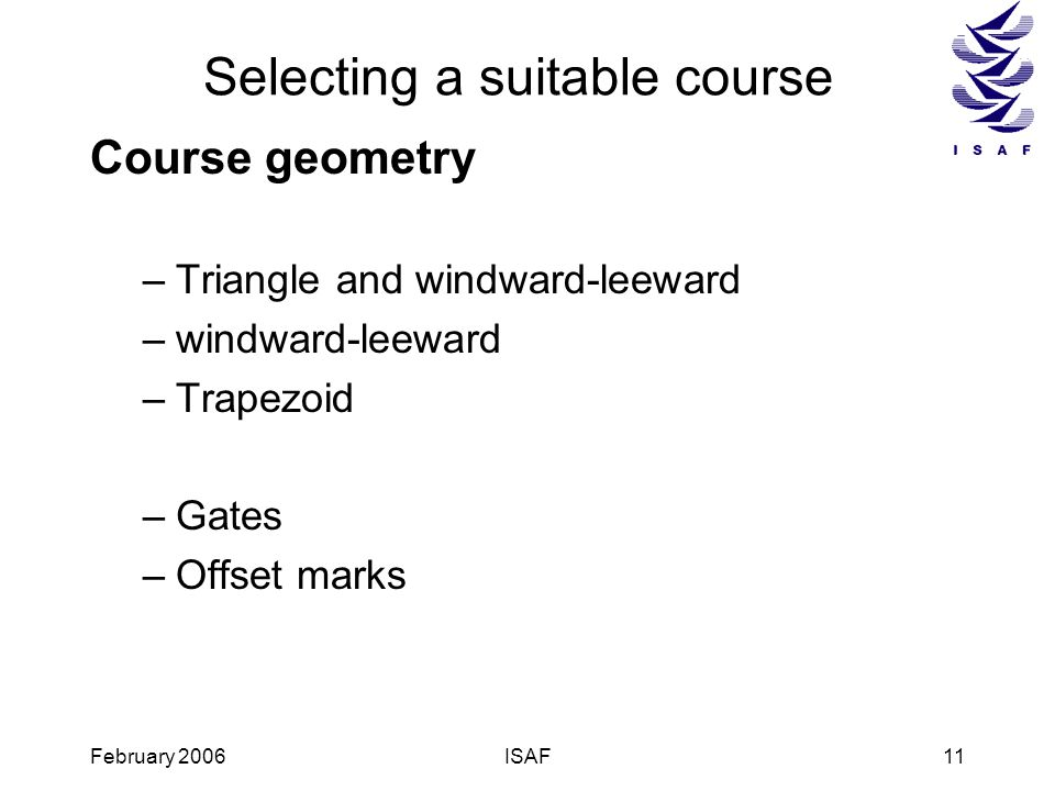Selecting a suitable course