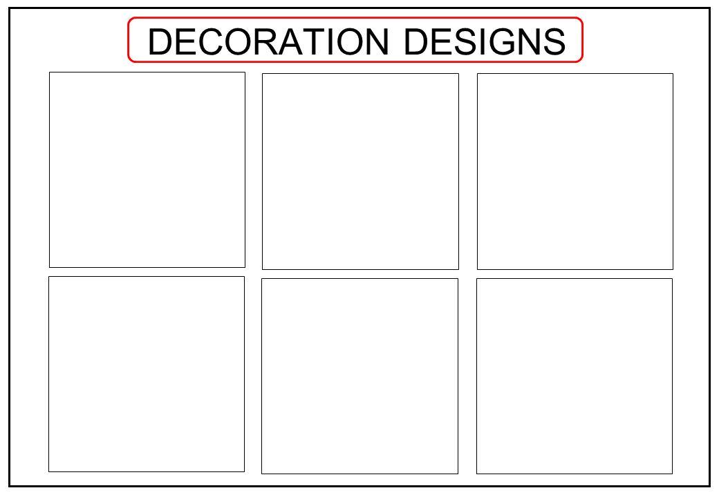 DECORATION DESIGNS