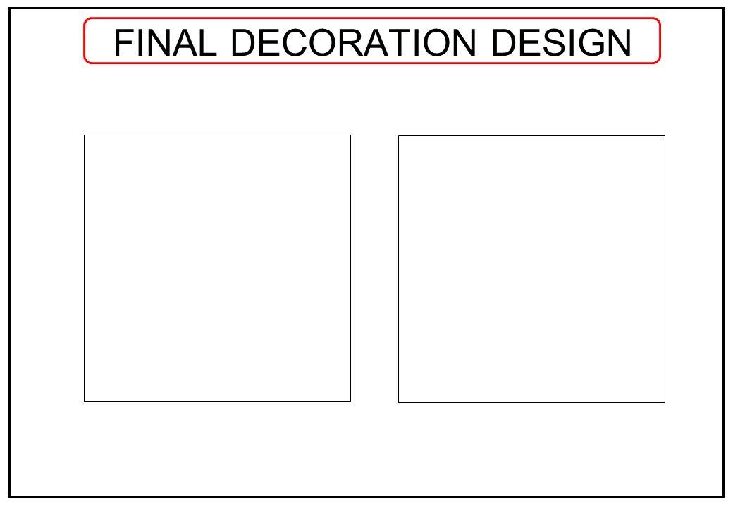 FINAL DECORATION DESIGN