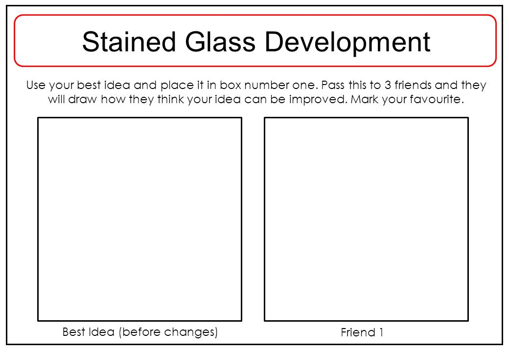 Stained Glass Development