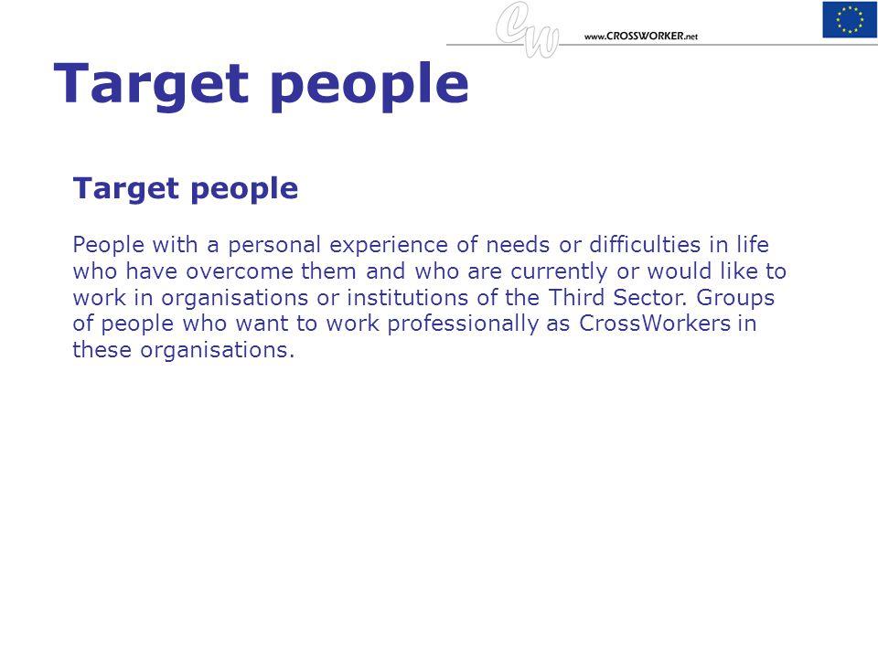Target people Target people