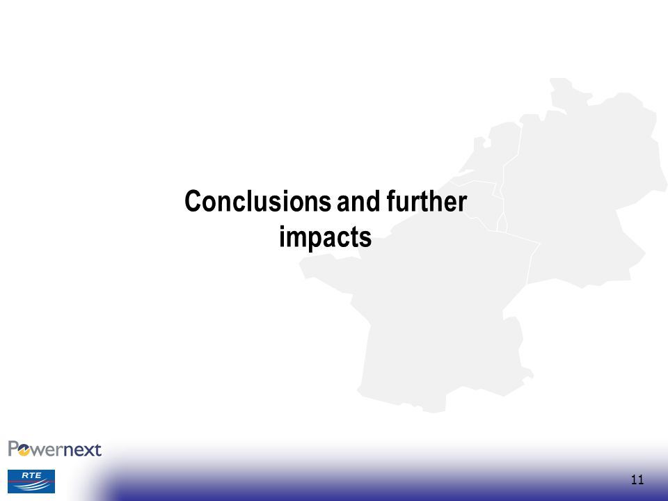 Conclusions and further impacts