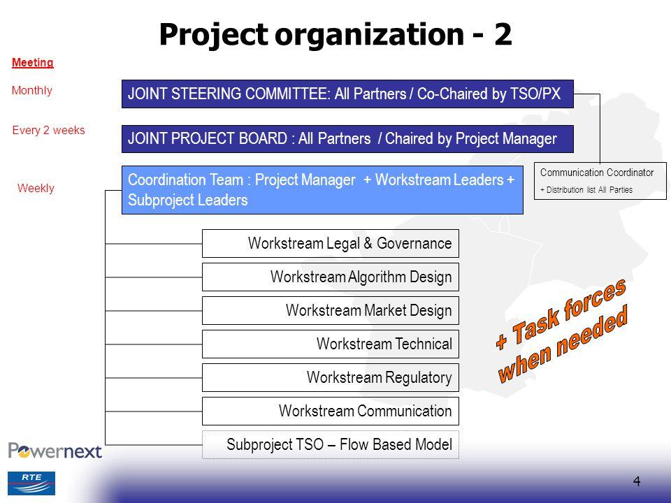 Project organization - 2
