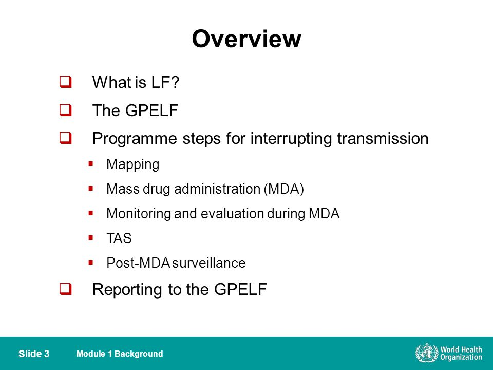 Overview What is LF The GPELF