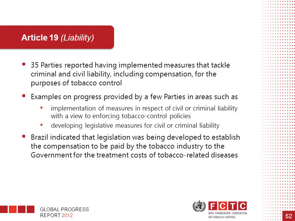 Article 19 (Liability)