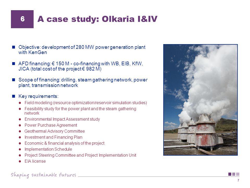 A case study: Olkaria I&IV
