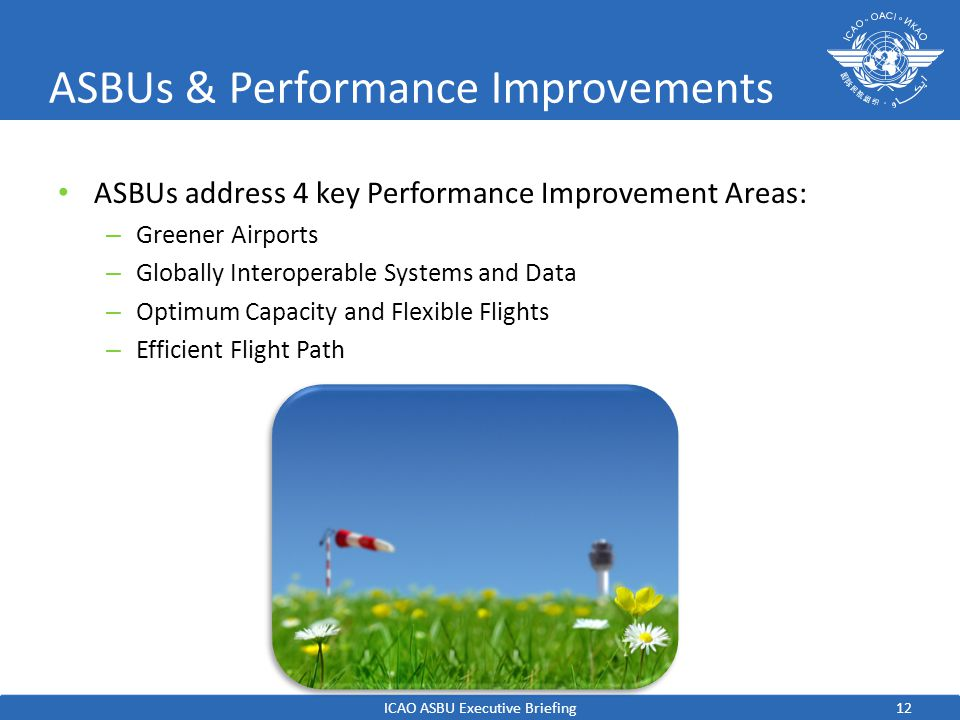 ASBUs & Performance Improvements