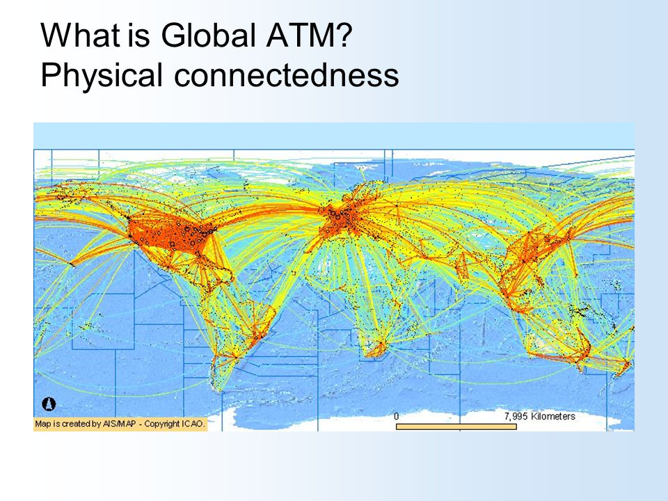 What is Global ATM Physical connectedness