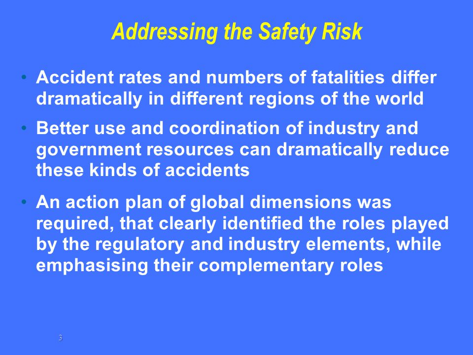 Addressing the Safety Risk