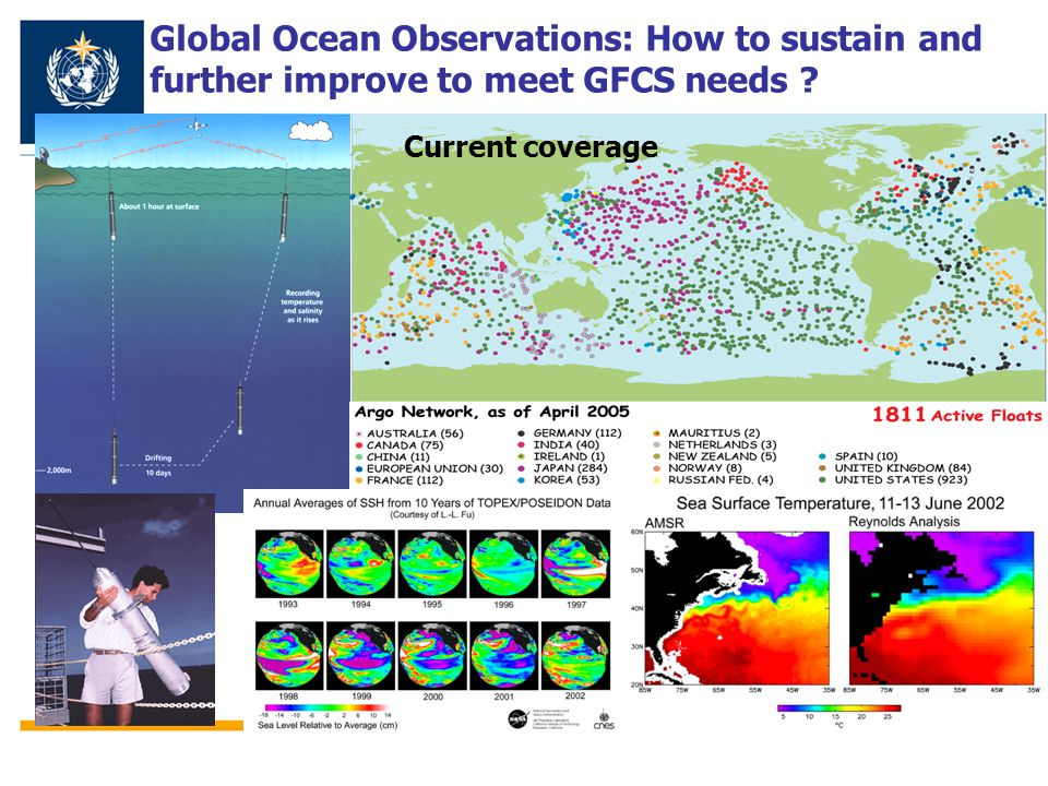 Global Ocean Observations: How to sustain and further improve to meet GFCS needs