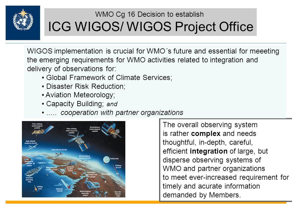 ICG WIGOS/ WIGOS Project Office