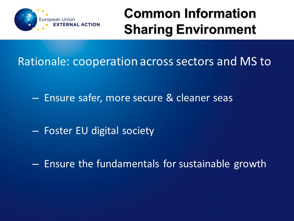 Common Information Sharing Environment