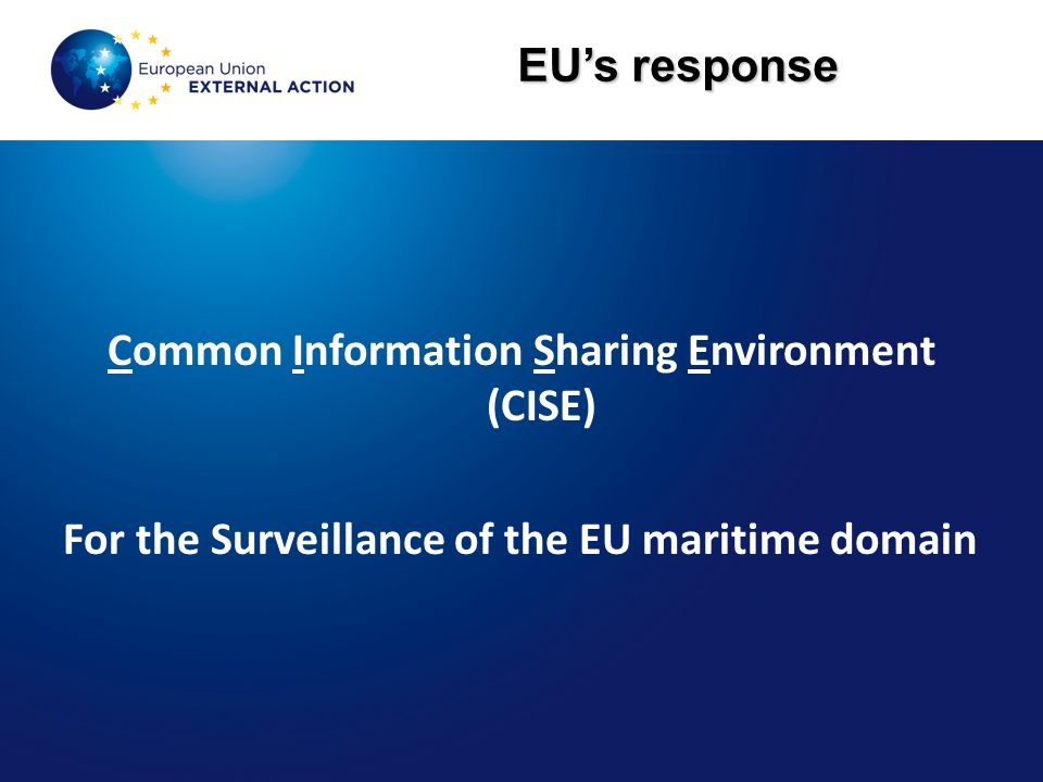 Common Information Sharing Environment (CISE)