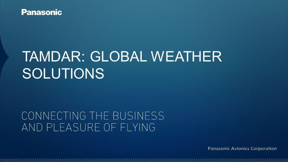 TAMDAR: GLOBAL WEATHER SOLUTIONS