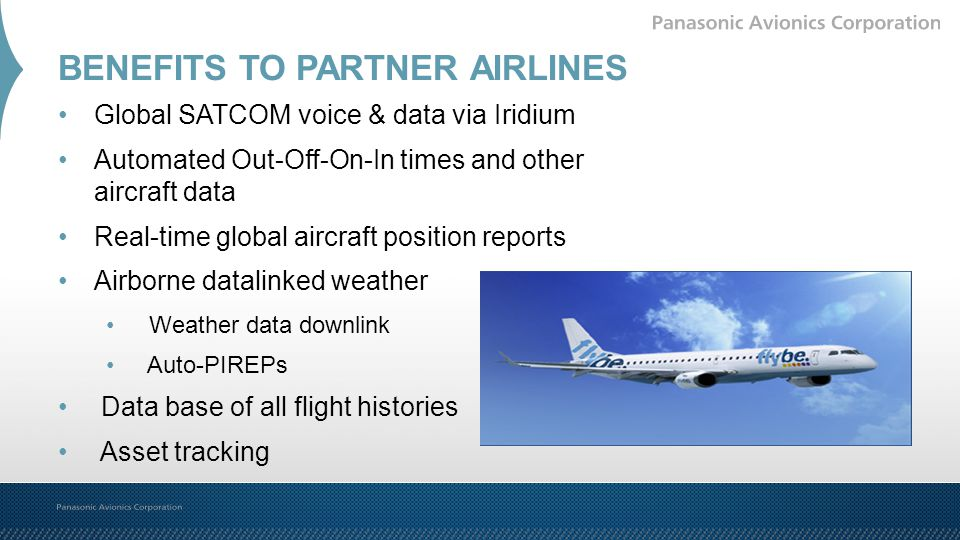 BENEFITS TO PARTNER AIRLINES