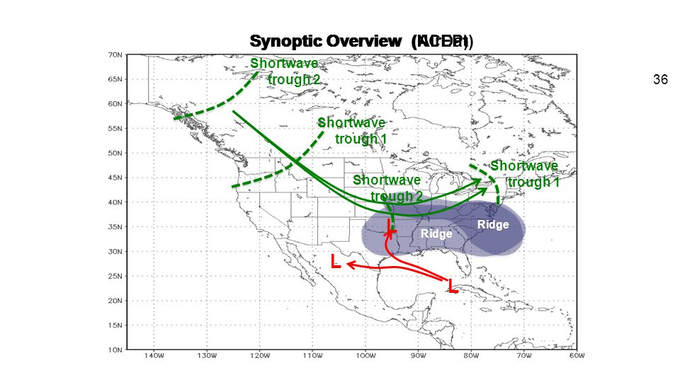 L L L Synoptic Overview (NCEP) Synoptic Overview (AirDat) Shortwave