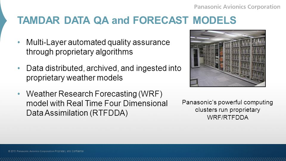 TAMDAR DATA QA and FORECAST MODELS