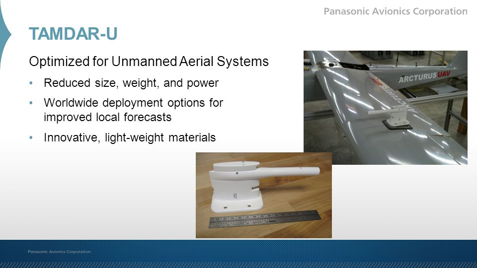 TAMDAR-U Optimized for Unmanned Aerial Systems