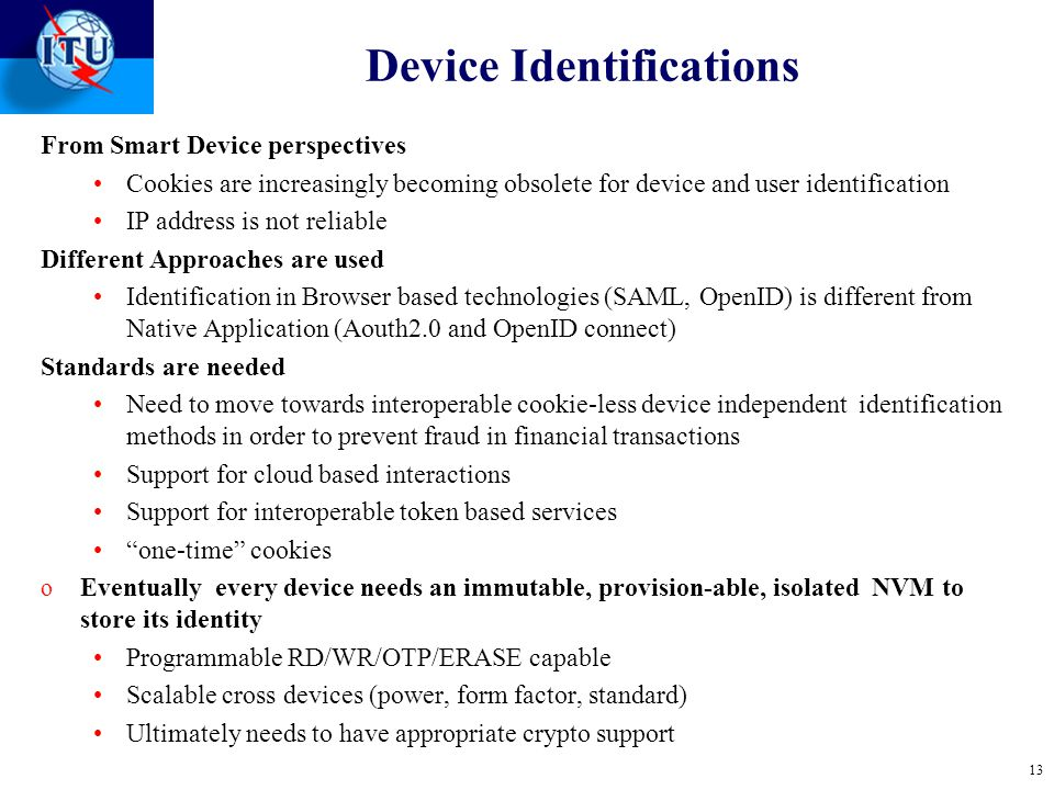 Device Identifications