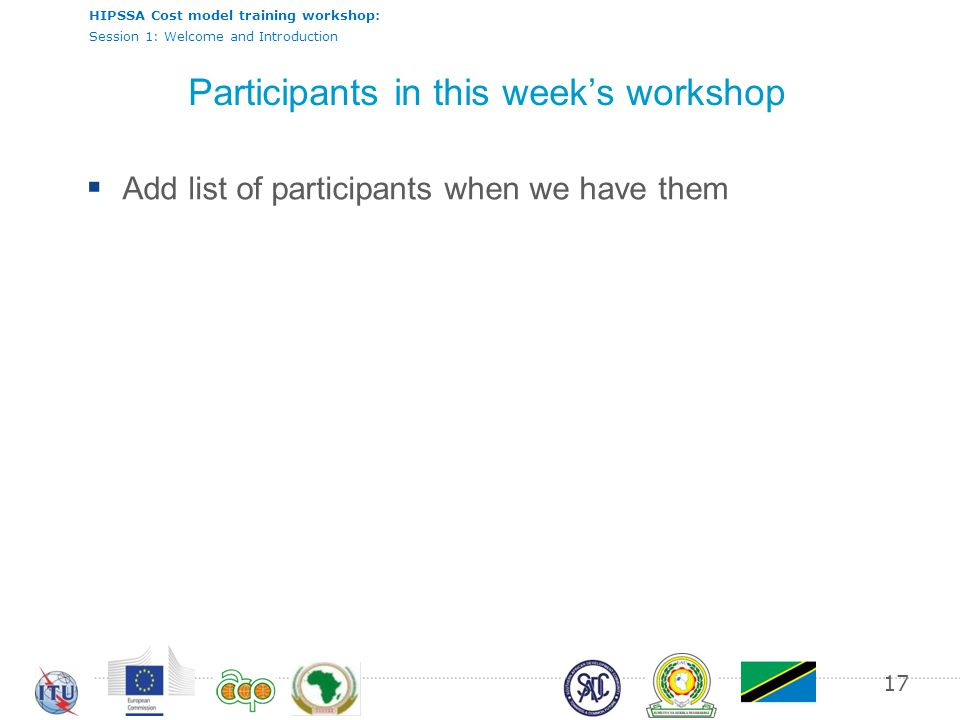 Participants in this week's workshop
