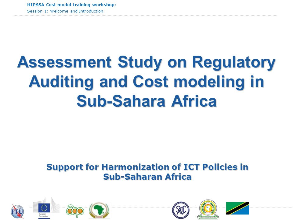 Support for Harmonization of ICT Policies in Sub-Saharan Africa