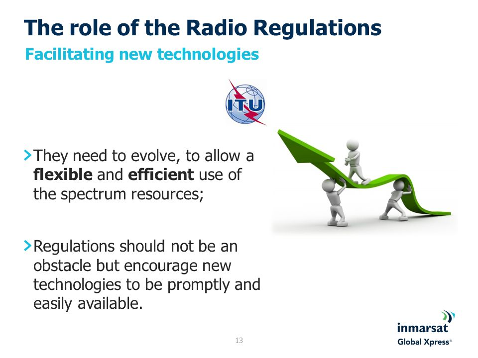 The role of the Radio Regulations