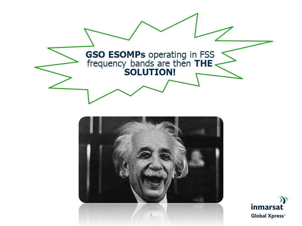 GSO ESOMPs operating in FSS frequency bands are then THE SOLUTION!