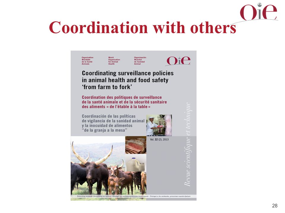 Coordination with others
