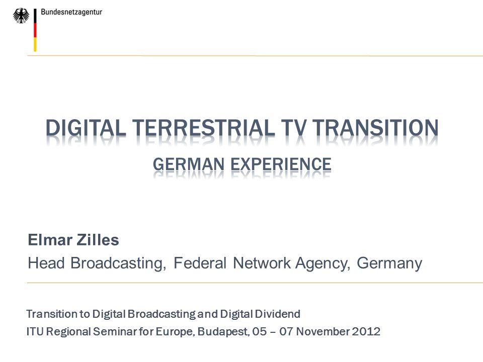 Digital terrestrial TV Transition German Experience