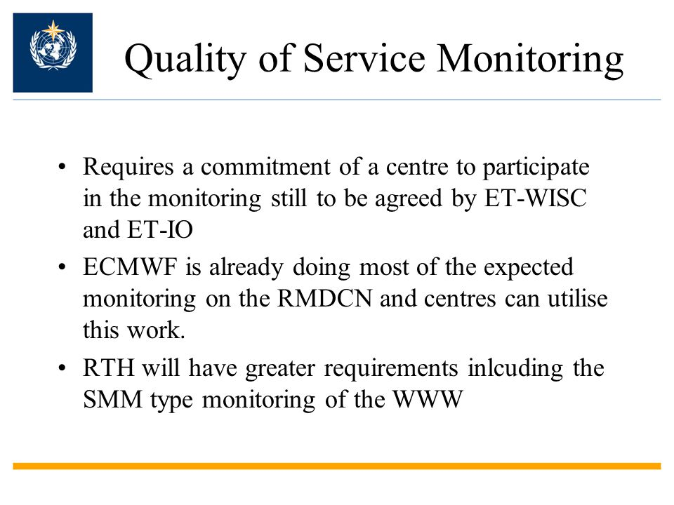 Quality of Service Monitoring