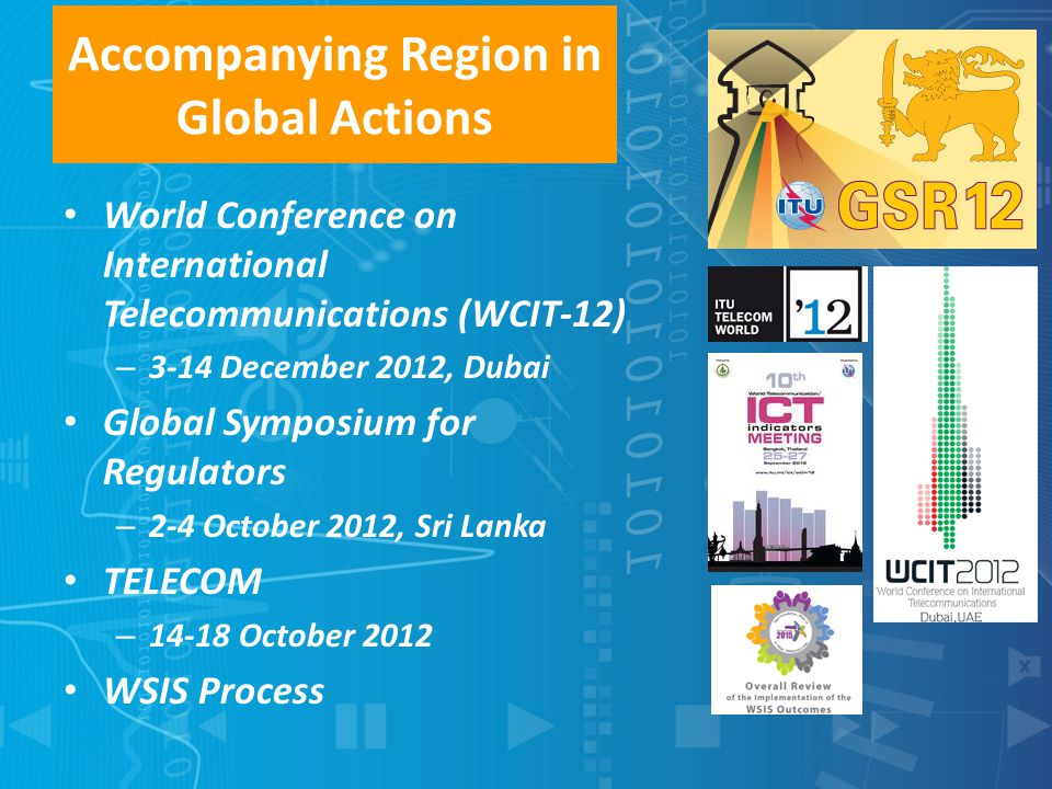 Accompanying Region in Global Actions
