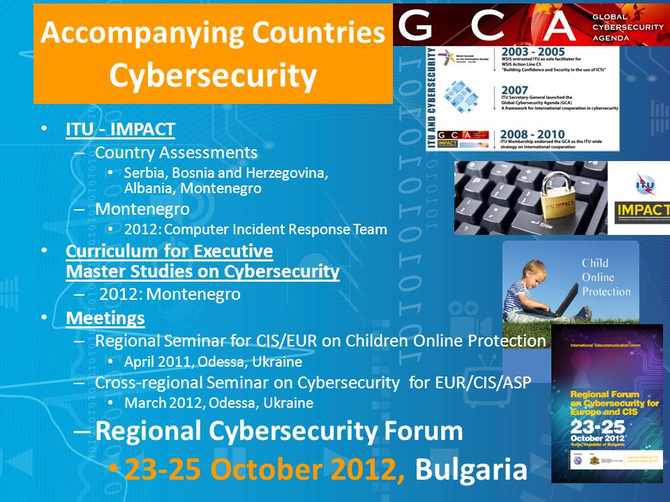 Accompanying Countries Cybersecurity