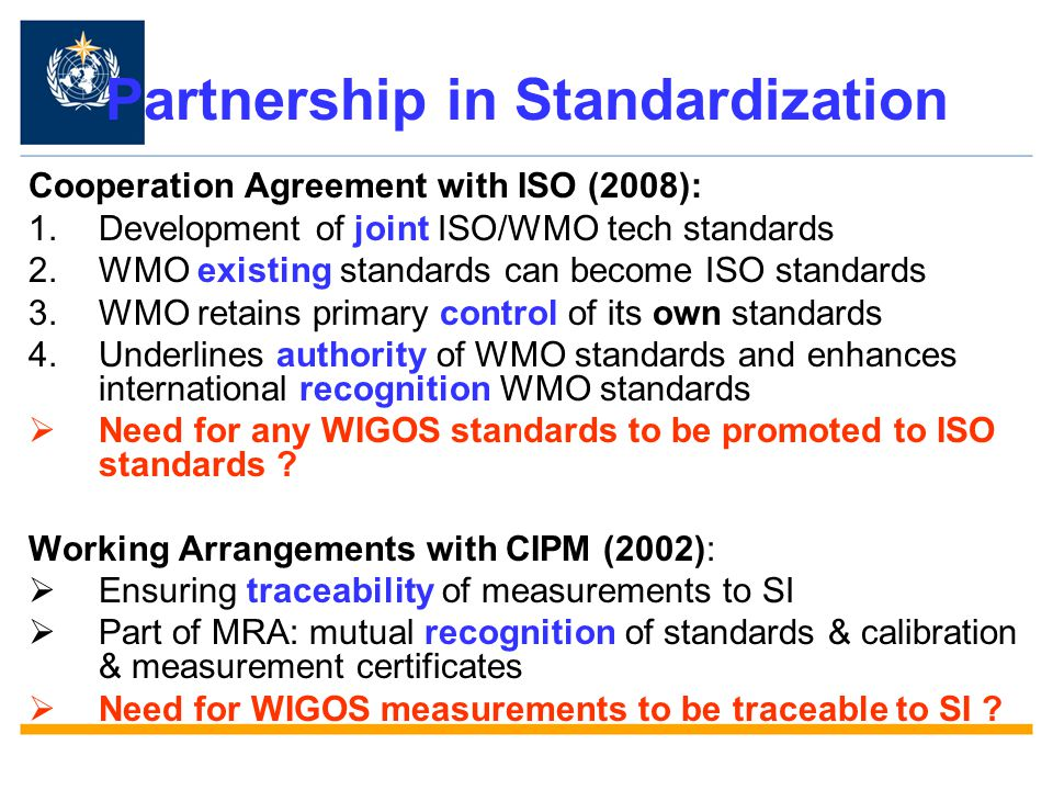 Partnership in Standardization