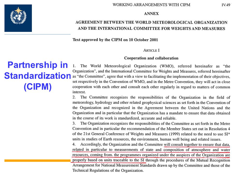 Partnership in Standardization (CIPM)
