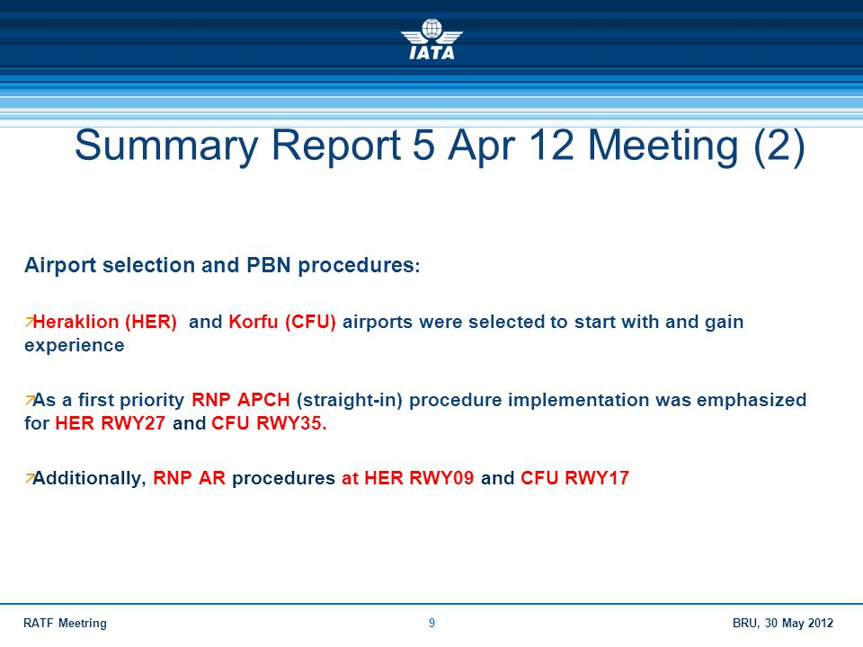 Summary Report 5 Apr 12 Meeting (2)