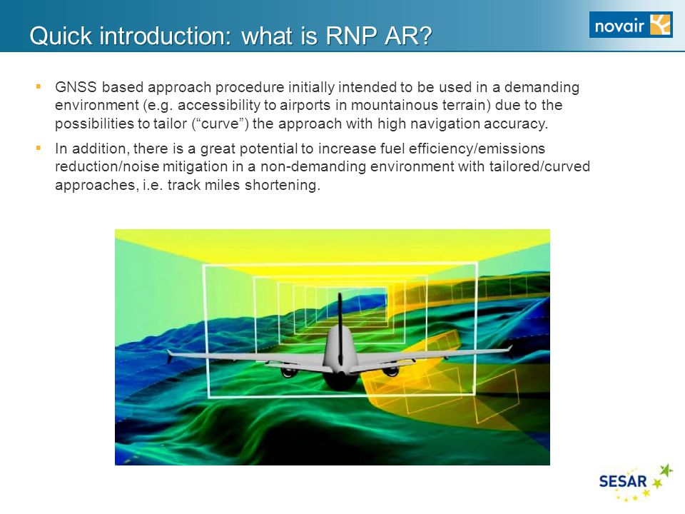 Quick introduction: what is RNP AR