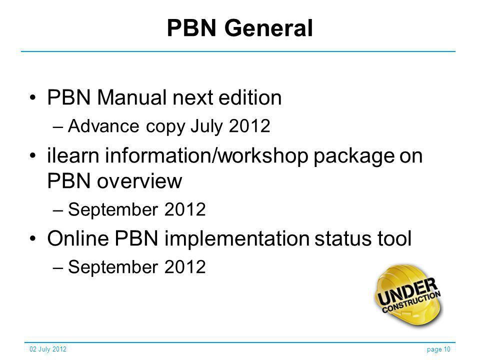 PBN General PBN Manual next edition