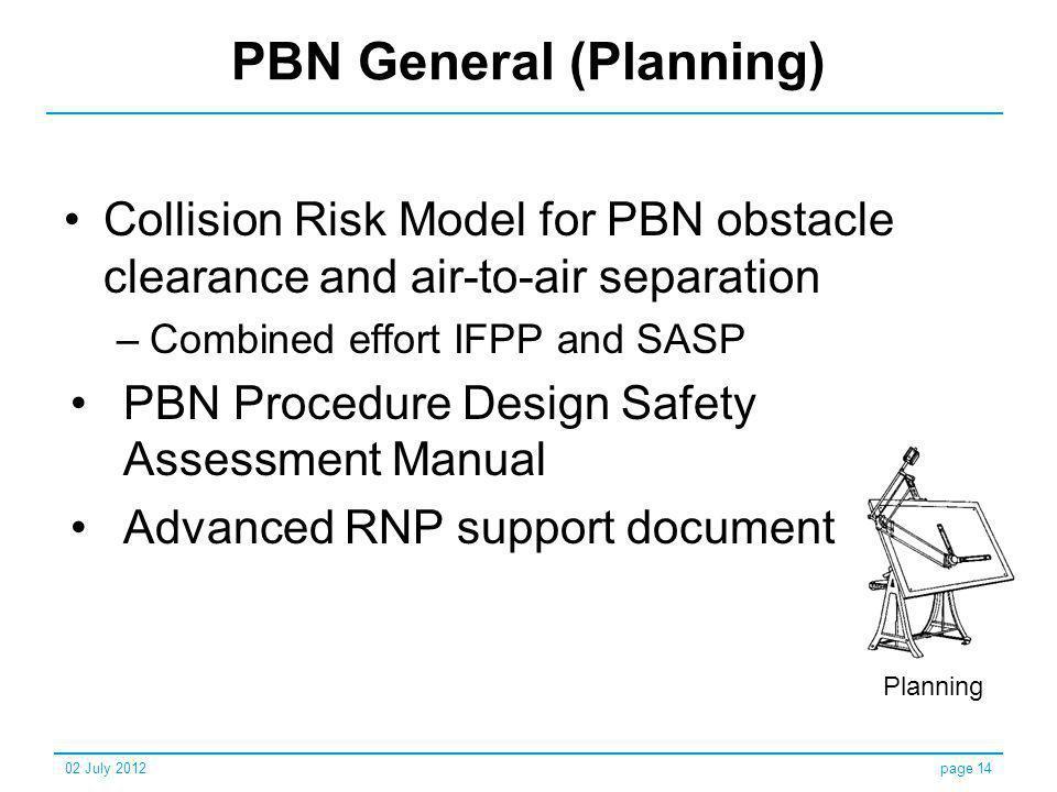 PBN General (Planning)