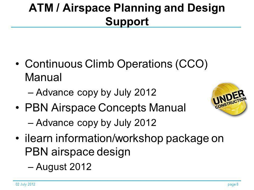ATM / Airspace Planning and Design Support