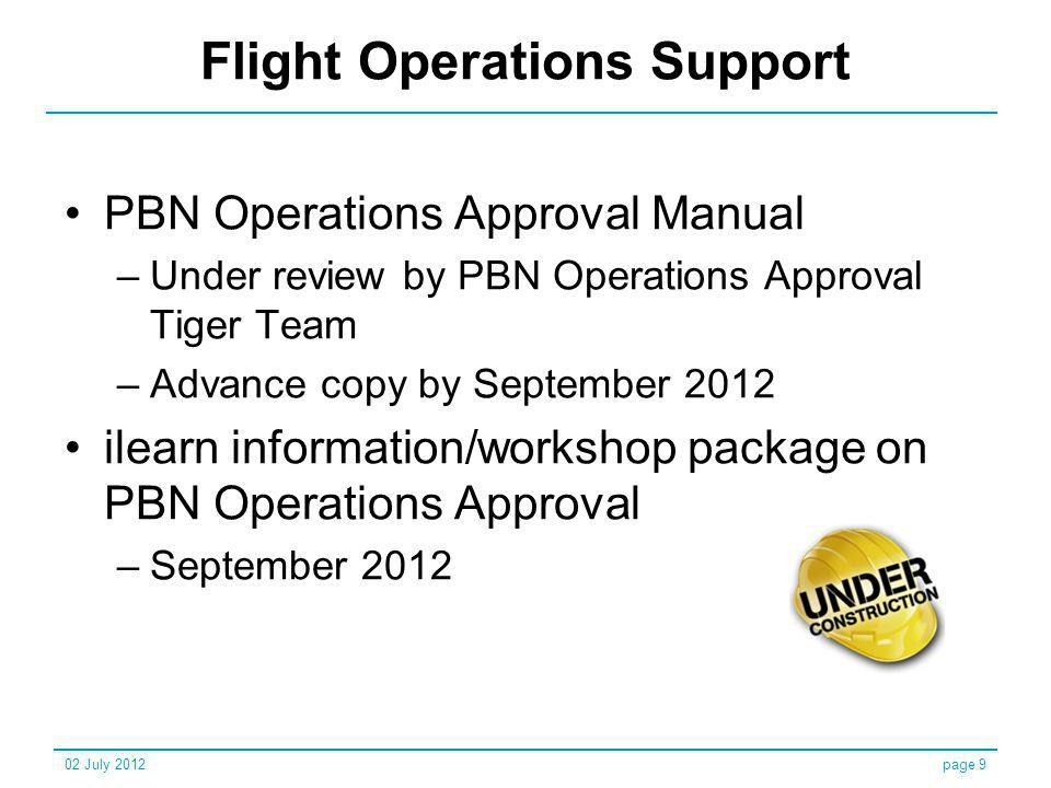Flight Operations Support
