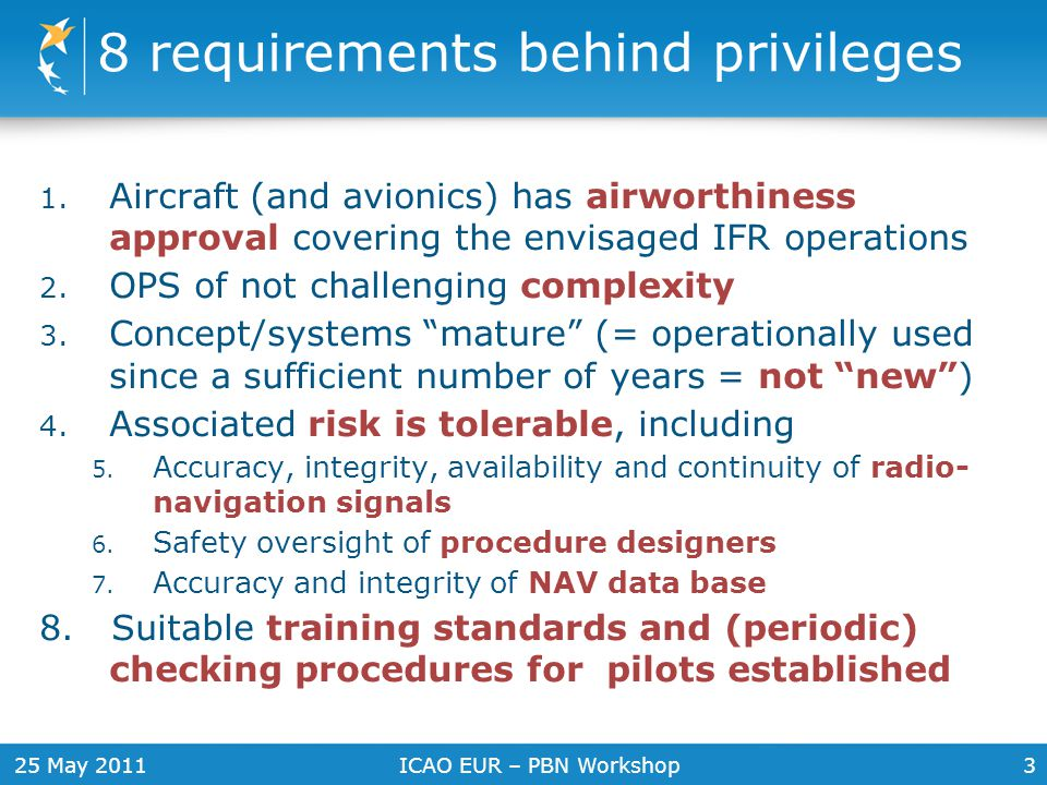 8 requirements behind privileges