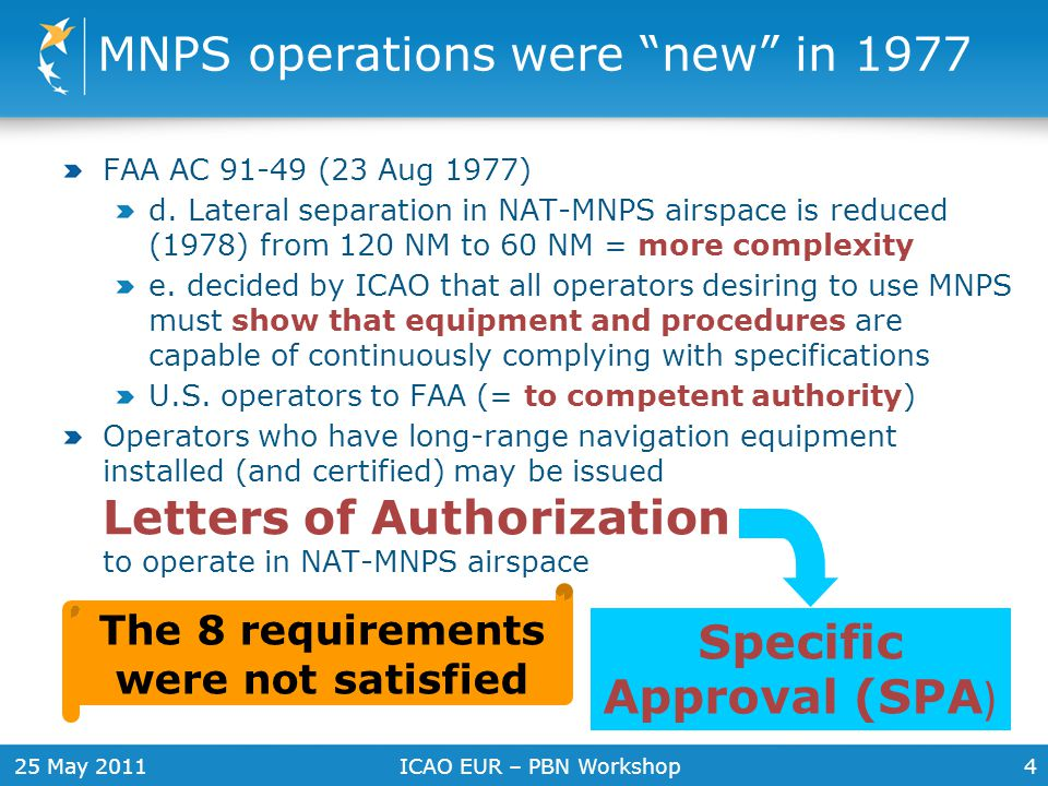 MNPS operations were new in 1977