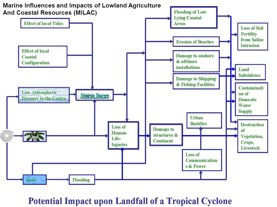 Marine Influences and Impacts of Lowland Agriculture