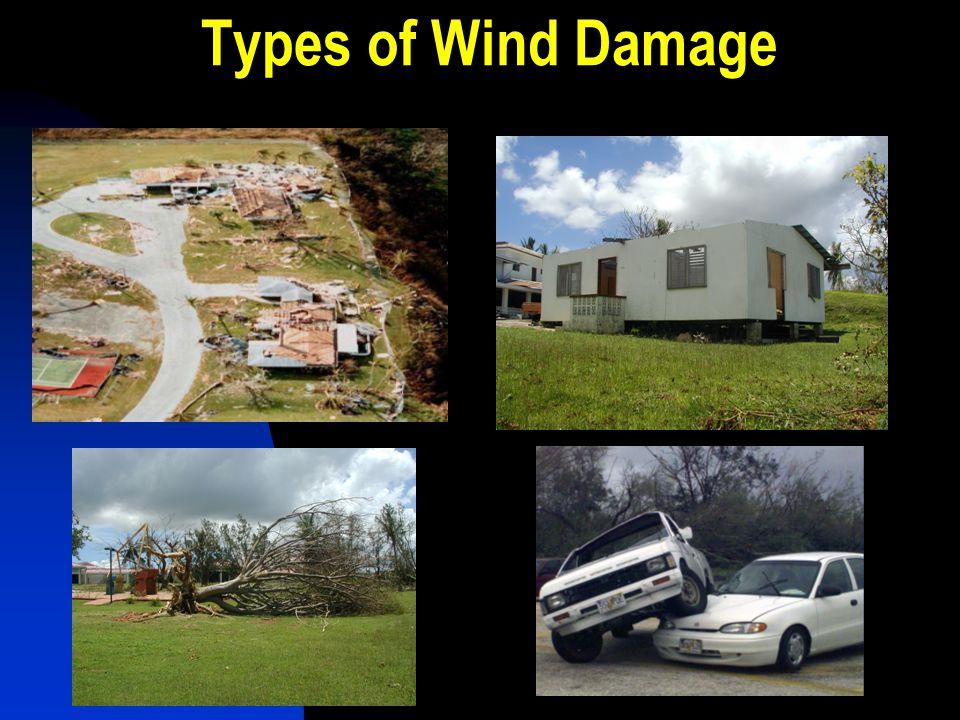 Types of Wind Damage