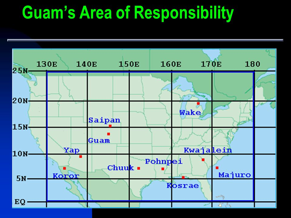Guam's Area of Responsibility