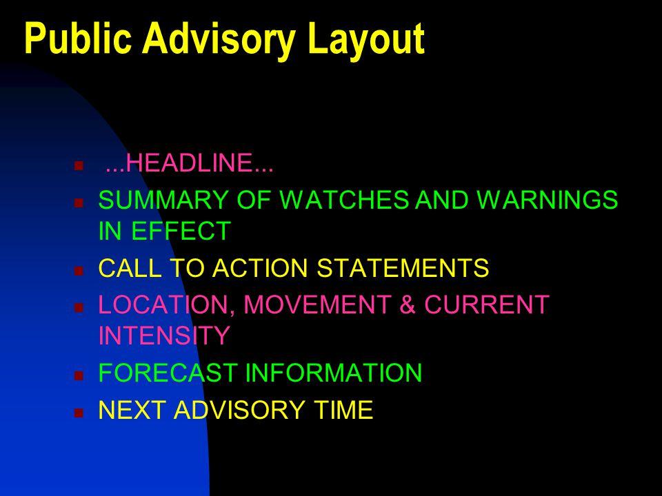 Public Advisory Layout