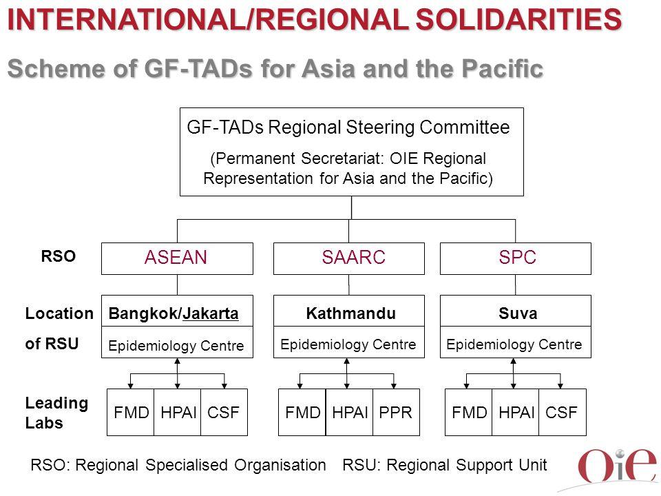 GF-TADs Regional Steering Committee
