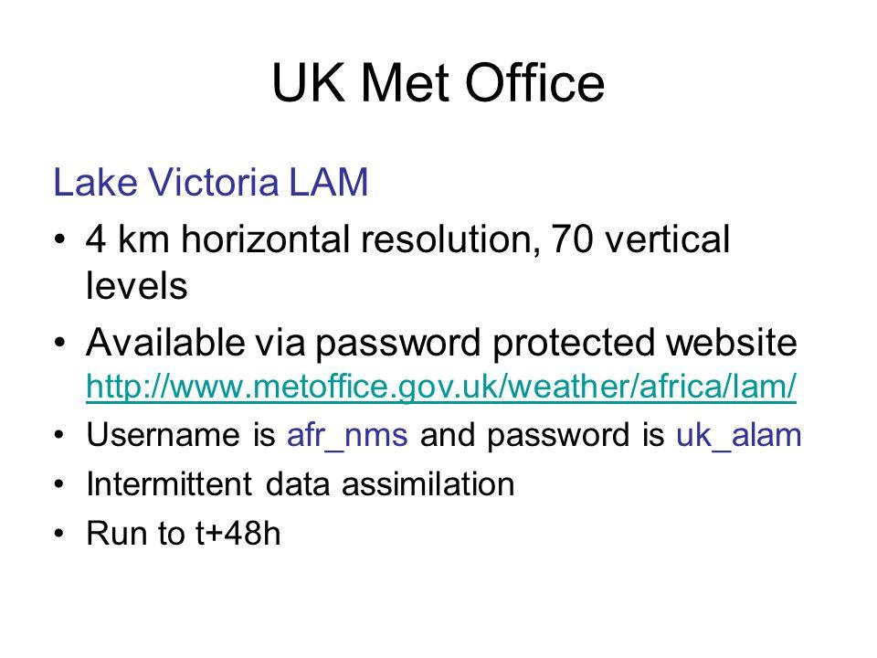 UK Met Office Lake Victoria LAM