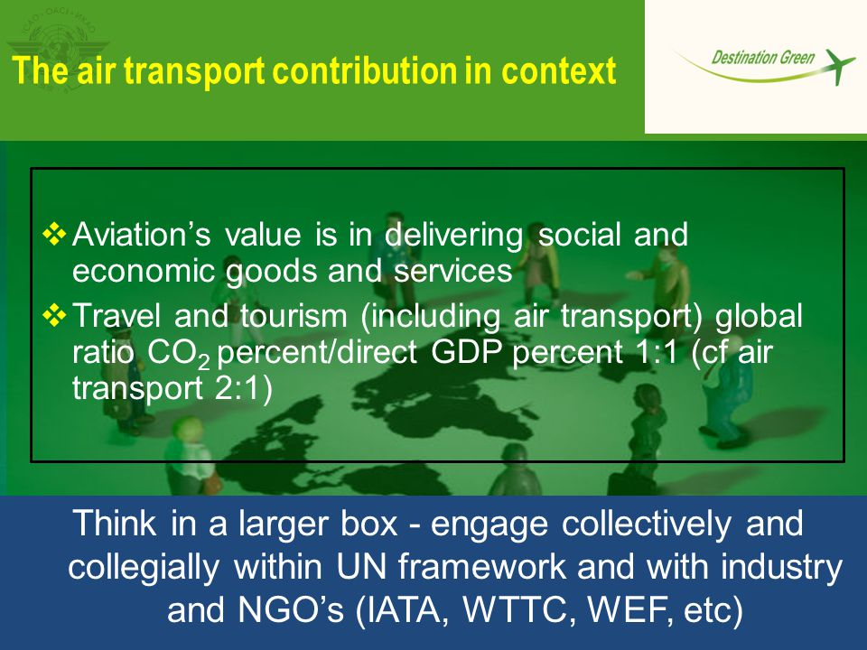 The air transport contribution in context