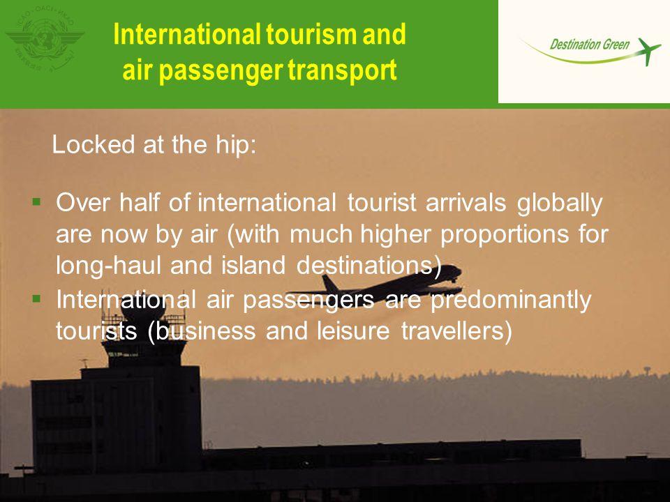 International tourism and air passenger transport